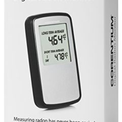 Corentium Home 223 Airthings Best Radon Gas Detector Review : 2019