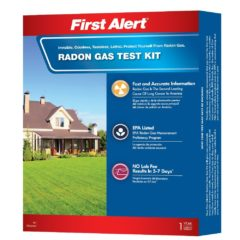First alert RD1 radon gas test kit Reviews