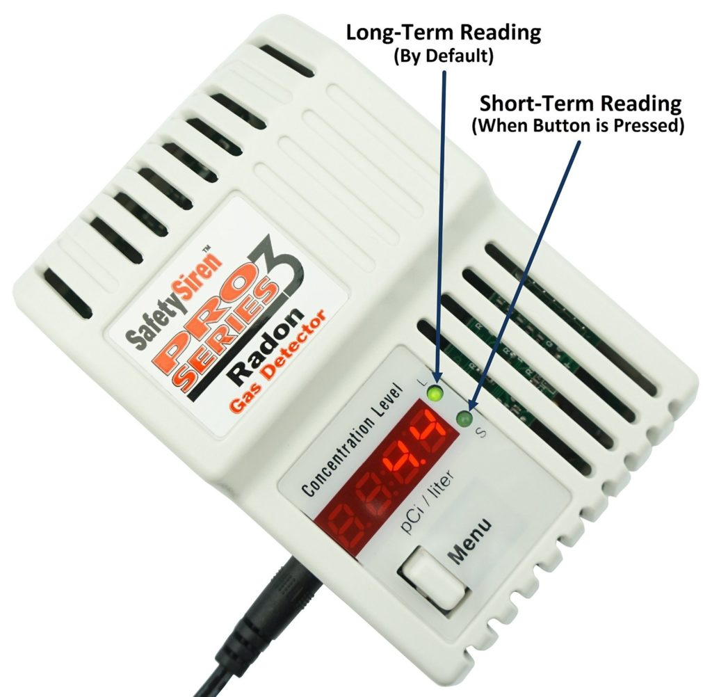Review Safety Siren Pro Series3 Radon Gas Detector HS71512