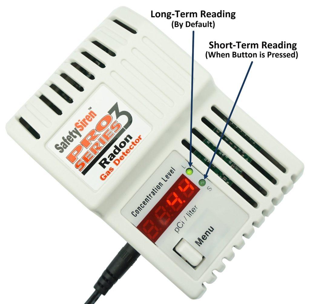 Review Safety Siren Pro Series3 Radon Gas Detector HS71512