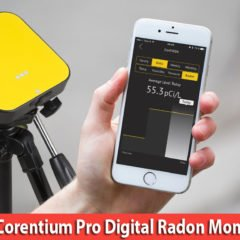 AirThings Corentium Pro Digital Radon Monitor Review-Best Radon detectors for Commercial (Professional) use