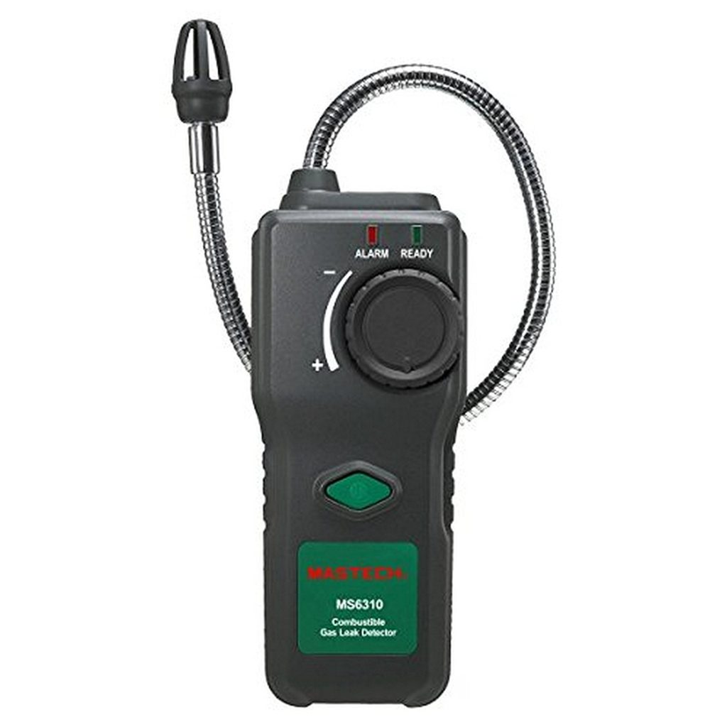 MASTECH MS6310 Combustible Gas Leak Detector Natural Gas Propane Alarm Review .