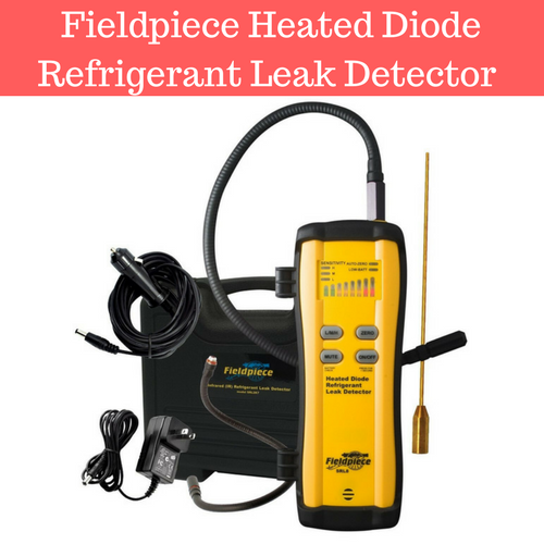 Fieldpiece Heated Diode Refrigerant Leak Detector - SRL8 Review