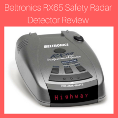Beltronics RX65 Safety Radar Detector Review : 2018