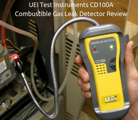 UEI Test Instruments CD100A Combustible Gas Leak Detector Review (1)
