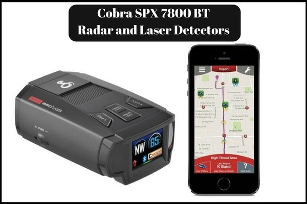 Cobra SPX 7800 BT Radar and Laser Detectors Review