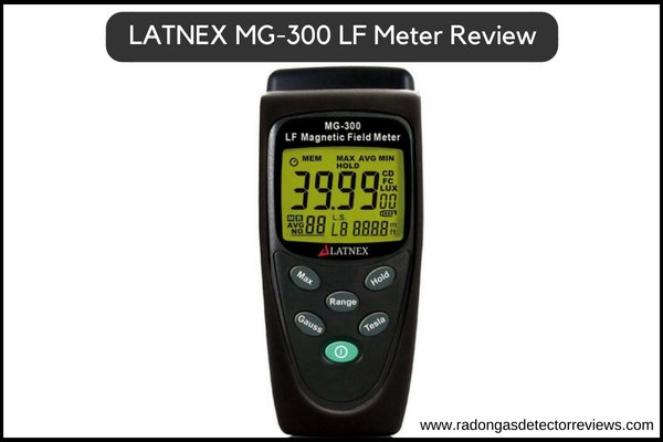 LATNEX MG-300 Electromagnetic Field Meter (EMF) Detectors Review-Used for EMF Home inspection