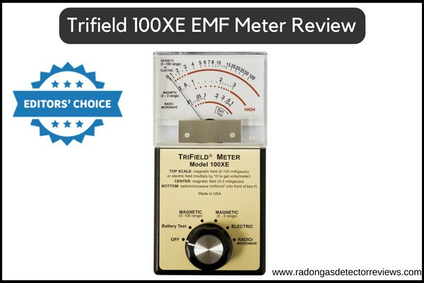 Trifield 100XE EMF Meter (Editor Choice) Best Electromagnetic Field (EMF) Detectors Reviews