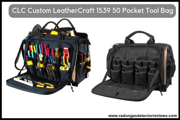 CLC Custom LeatherCraft 1539 50 Pocket Tool Bag Review for HVAC