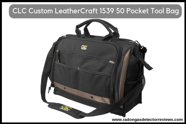 CLC Custom LeatherCraft 1539 50 Pocket Tool Bag for HVAC