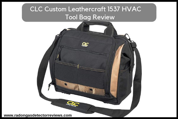 CLC Custom Leathercraft 1537 HVAC Tool Bag Review