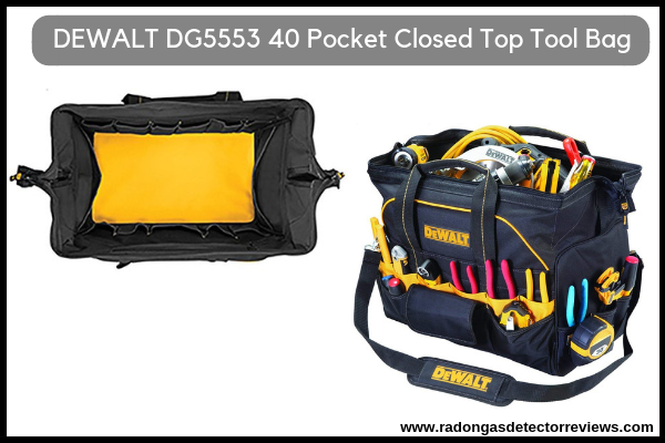DEWALT DG5553 40 Pocket 18 Inch Pro Contractor's Closed Top Tool Bag Review HVAC
