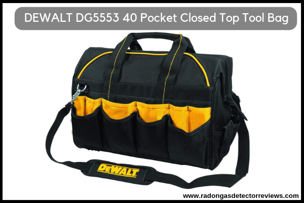 DEWALT DG5553 40 Pocket 18 Inch Pro Contractor's Closed Top Tool Bag Review