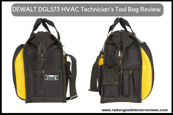 DEWALT DGL573 Lighted Best HVAC Technician's Tool Bag Review-Amazon