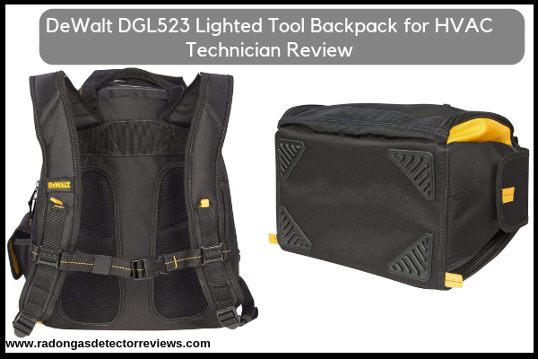 DeWalt DGL523 Lighted Tool Backpack for HVAC Technician-Amazon