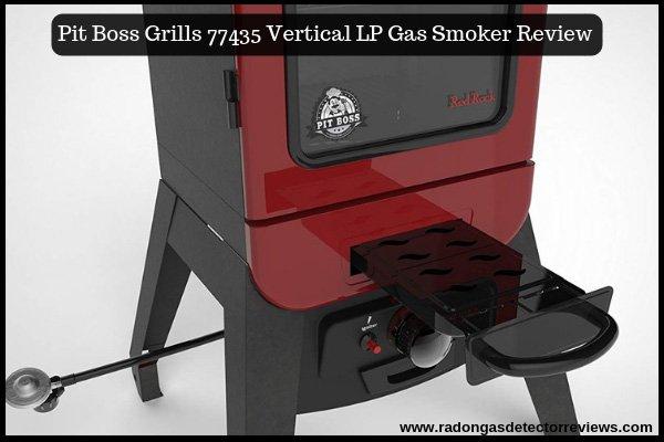 Pit Boss Grills 77435 Vertical LP Gas Smoker Review Amazon