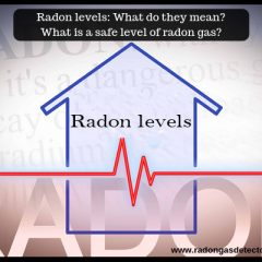 Radon levels: What do they mean? What is a safe level of radon gas ?