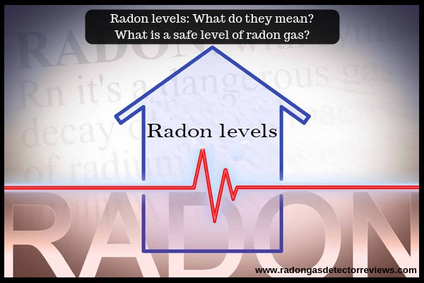 Radon levels-What do they mean-What is a safe level of radon gas