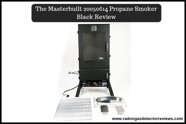 The Masterbuilt 20050614 Propane Smoker Black Review Amazon