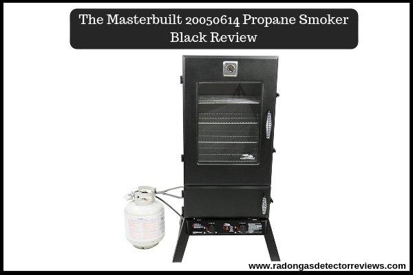 The Masterbuilt 20050614 Propane Smoker Black Review
