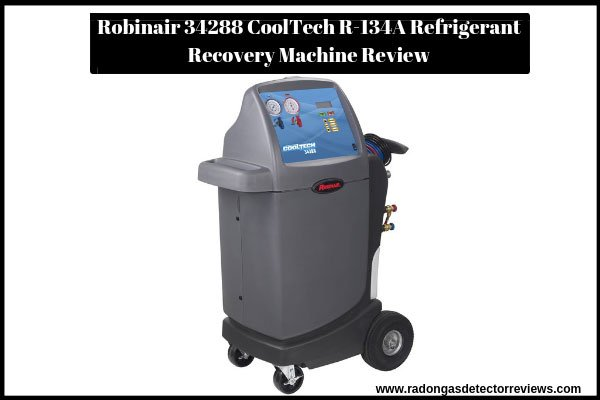 robinair-34288-cooltech-r-134a-refrigerant-recovery-machine-review