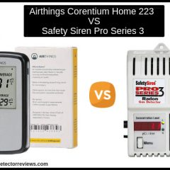 Airthings Corentium Home 223  VS Safety Siren Pro Series 3 :Comparison