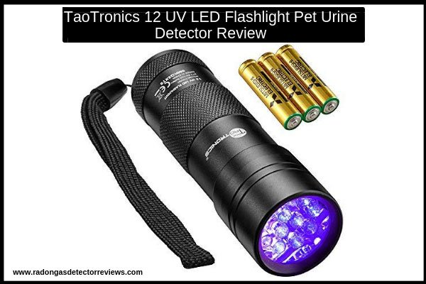 taotronics-12-uv-led-flashlight-pet-urine-detector-review