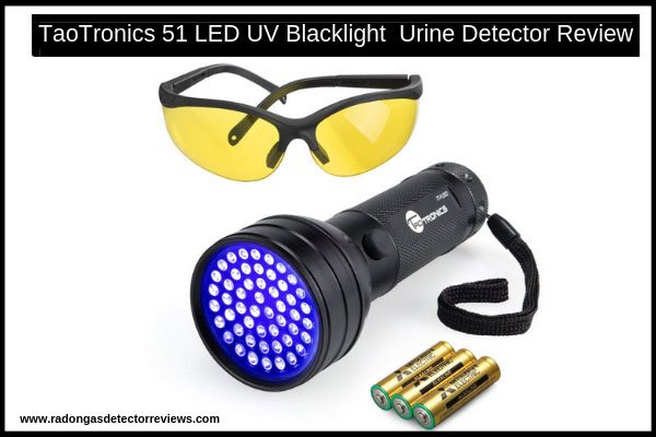 taotronics-51-led-uv-black-light-flashlight-urine-detector-review